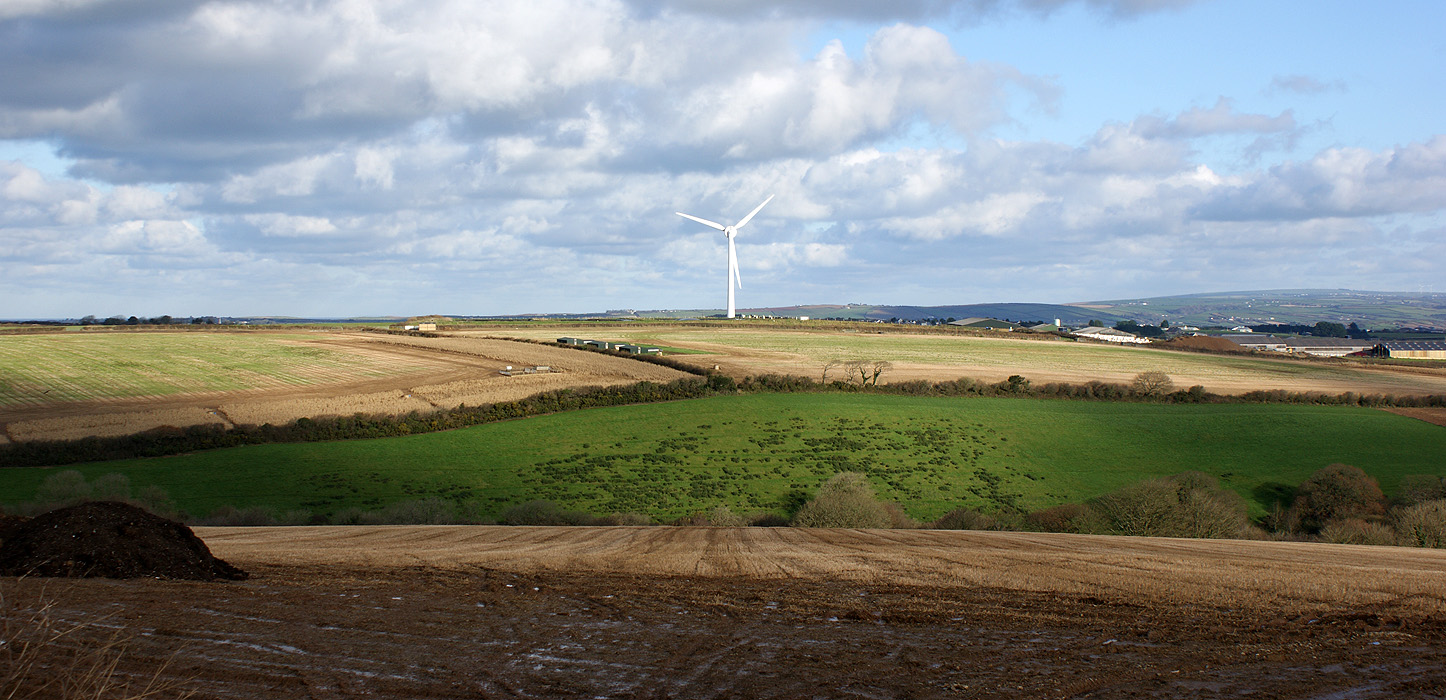 CEC produce photomontages of wind turbines for a sensitive project in Pennsylvania
