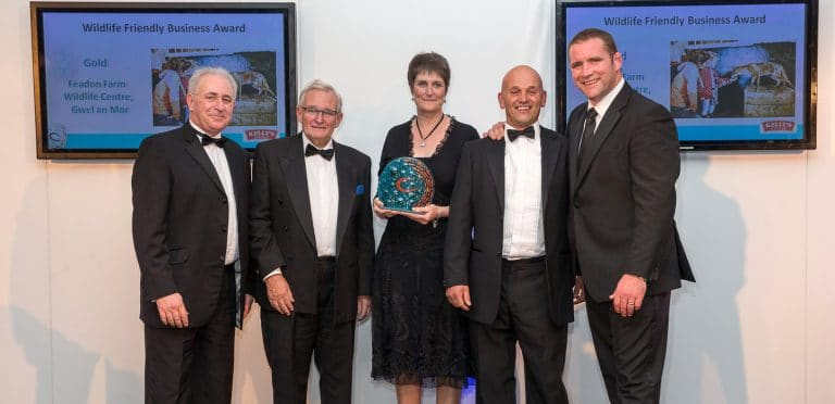 Gwel-an-Mor win Gold in the 'Wildlife Friendly Business Awards' category