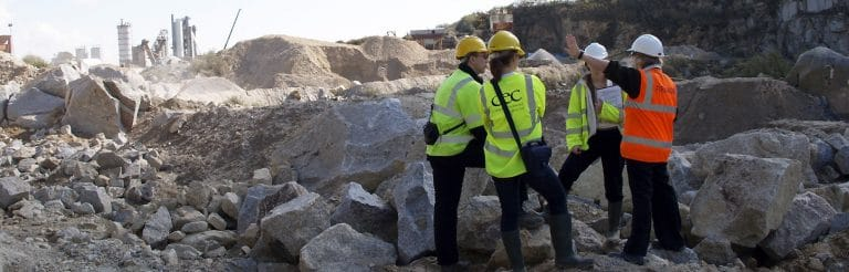 Site services - Carnsew - Stone selection