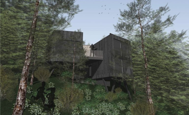 Hall Wood, Pelynt - Artist Impression _ Photo credit - Arco2