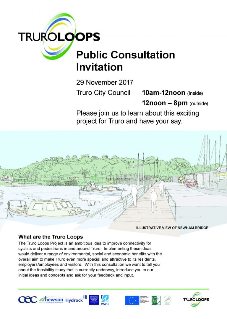 Truro Loops Public Consultation Invite