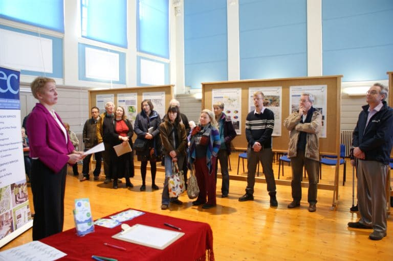 Birgit speech at Truro Loops Public Consultation