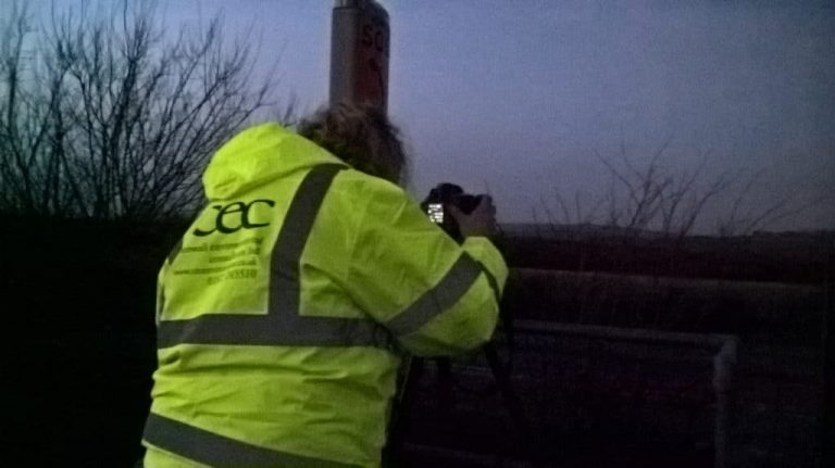 Lucy high vis undertaking night LVIA