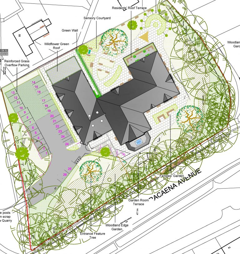 Landscape Masterplan Four Winds Care Home