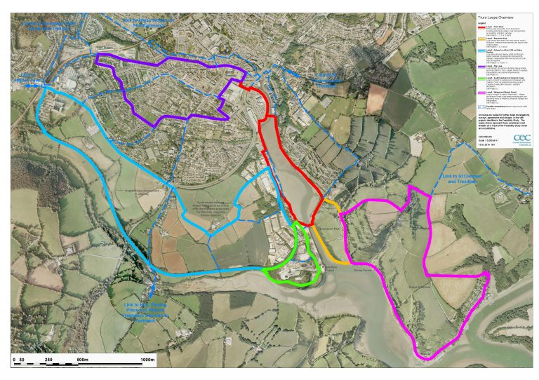 Truro Loops Overview Plan