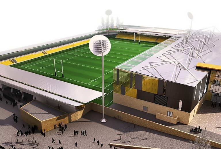 Design proposal for Stadium for Cornwall