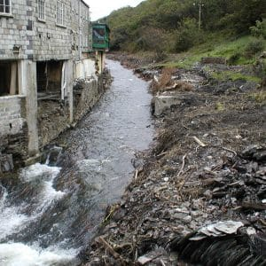 Boscastle after the flood - credit Benjamin Evans
