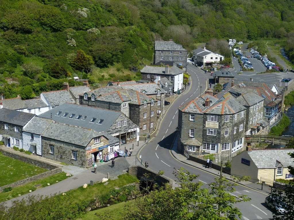 Boscastle village - credit Falco