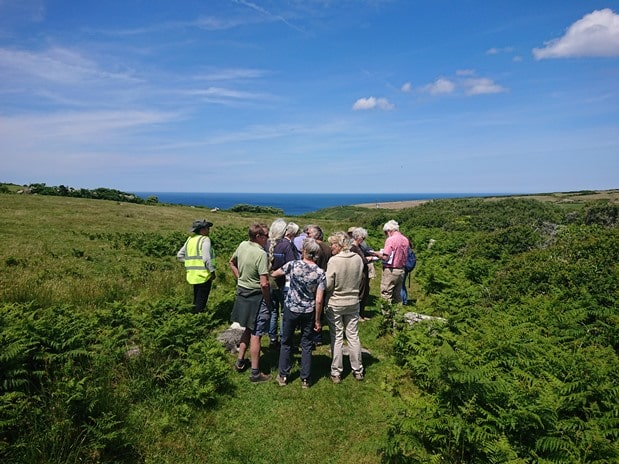 PLP volunteers at Zennor