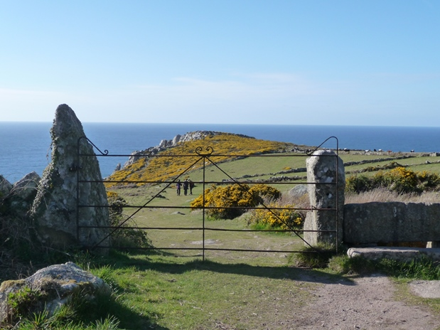 Traditional Penwith landscape. Photo credit: Cornwall Council Historic Environment Service